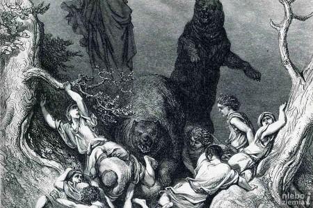 Dlaczego Bóg kazał 2 niedźwiedziom rozszarpać 42 dzieci?