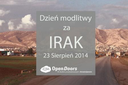 Dzień modlitwy za Irak