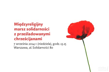Marsz solidarności z prześladowanymi chrześcijanami - już w niedzielę