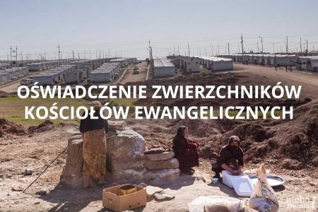 Oświadczenie Kościołów w kwestii imigrantów