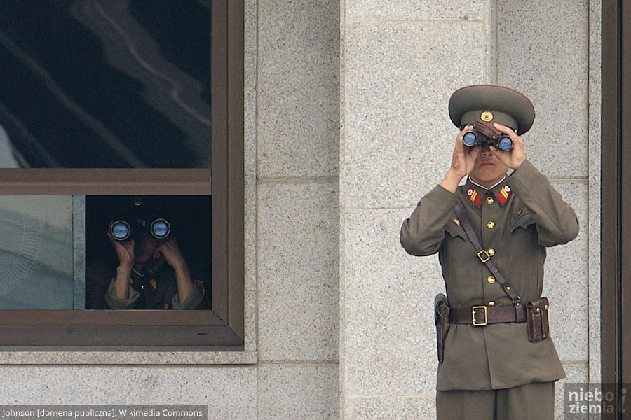 Balonem do Korei Północnej